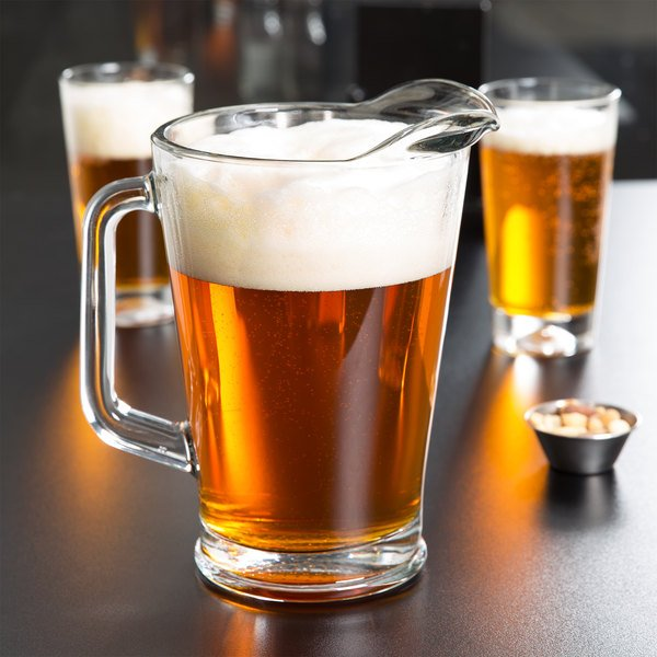 how big is a pitcher of beer